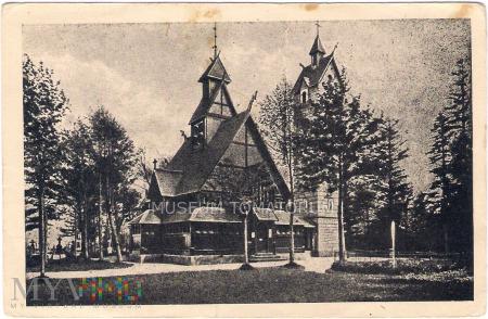 Karkonosze - Bierutowice, Świątynia Wang - 1947