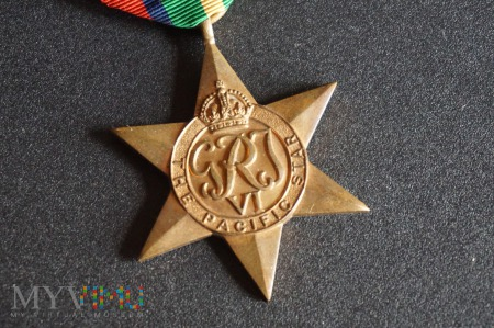Medal Brytyjski - Gwiazda Pacyfiku
