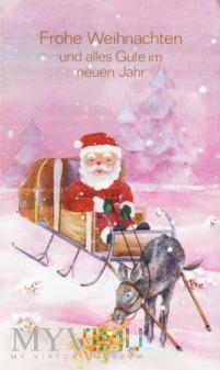 Frohe Weihnachten und alles Gute im neuen Jahr