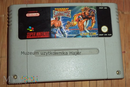 Saturday Night Slam Masters - gra SNES Nintendo