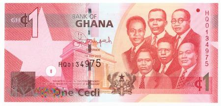 Ghana - 1 cedi (2015)