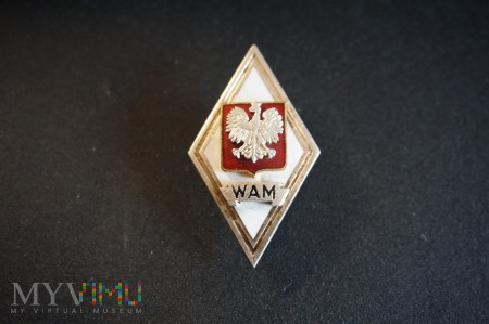 Odznaka Absolwenta WAM - 1990