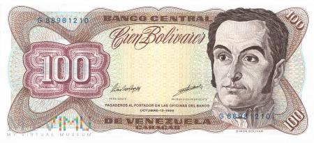 Wenezuela - 100 boliwarów (1998)