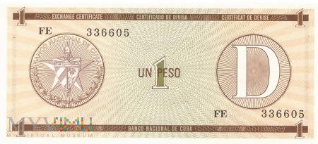Kuba - 1 peso (1985)