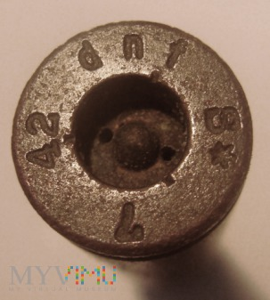 Łuska 7,92x57 Mauser 1942r. dnf