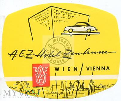 Austria - Wiedeń - Hotel Zentrum