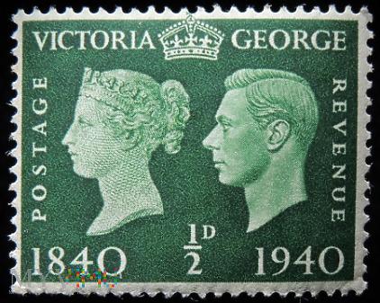 ½d Jerzy VI i Victoria