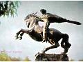 Armenia Erywań pomnik Dawida z Sassoun '66