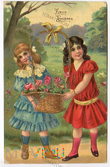 Szczere życzenia - 1909