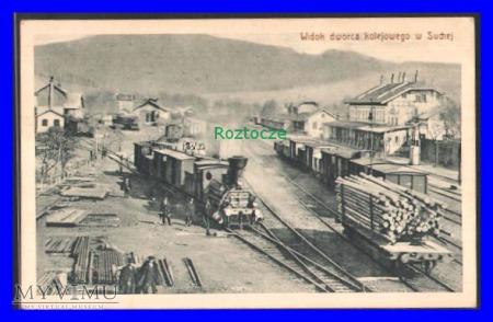 SUCHA , Dworzec kolejowy