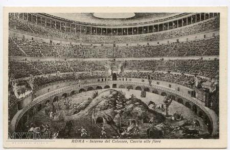 Quo Vadis - Wnętrze Colosseum