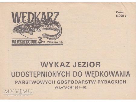 Wędkarz Vademecum 1-2/1990, 1-3/1991