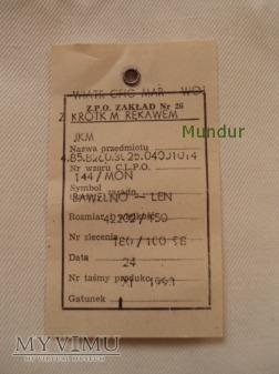 Wiatrówka oficerska MW z krótkimi rękawami 144/MON