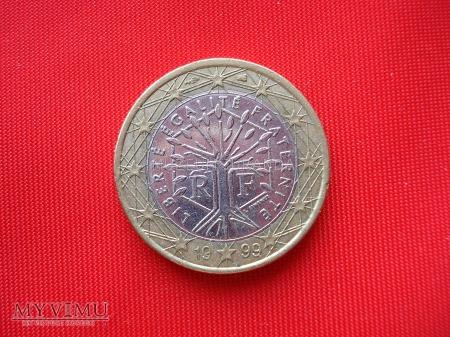 1 euro - Francja