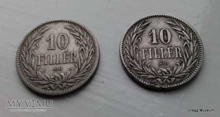 10 FILLER 1894 WĘGRY