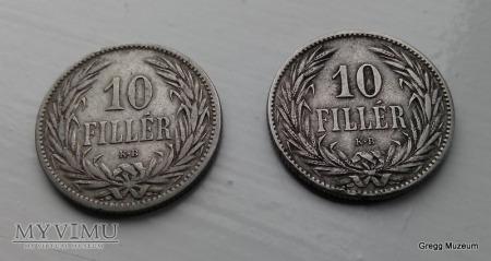 Duże zdjęcie 10 FILLER 1894 WĘGRY