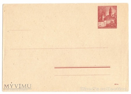 1943 r. - koperta Ck. 2c