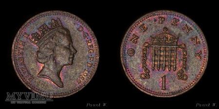 Anglia - 1989 - 1 penny