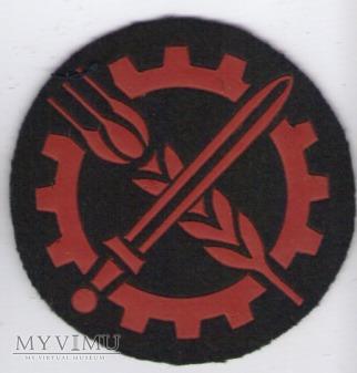 Oznaka specjalisty MW - słuzba kwatermistrzowska
