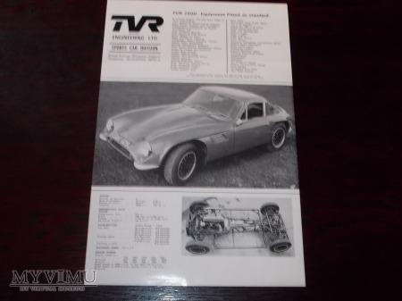 Prospekt TVR 2500