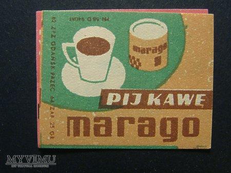 Etykieta - Pij kawę Marago