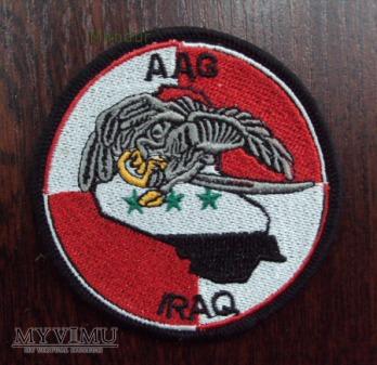 Oznaka 25 DKPow. AAG Iraq
