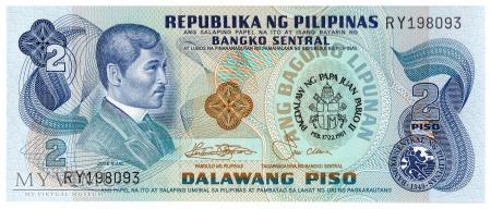 Filipiny - 2 pesos (1981)