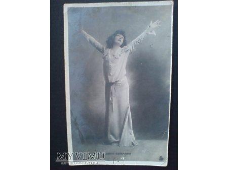 Duże zdjęcie Sarah Bernhardt 1905 Aktorka