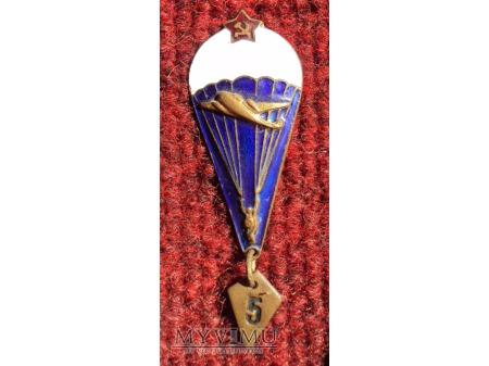 Odznaka spadochroniarza ZSRR