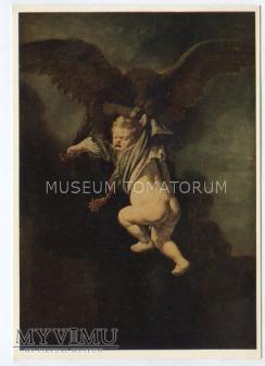 Rembrandt - Ganymed porwany przez orła