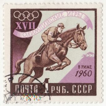 1960r XVII Igrzyska Olimpijskie w Rzymie 3