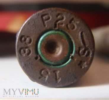 Łuski od 7,92x57 Mauser 1937/38r .P25