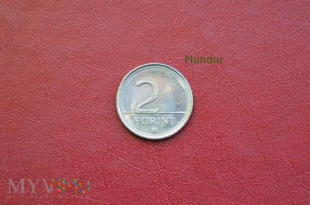 Moneta węgierska: 2 forint