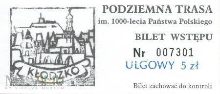 Kłodzko - Podziemna trasa turystyczna