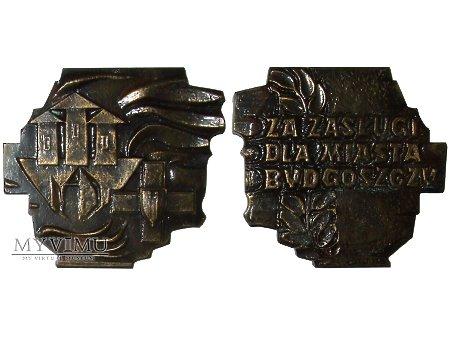 Duże zdjęcie Medal za Zasługi dla Miasta Bydgoszczy 1965