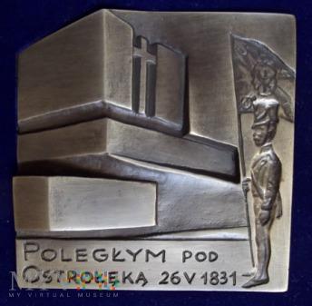 Medal - Poległym pod Ostrołęką 26 V 1831.