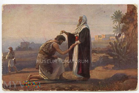 Samuel namaszcza Saula na króla Izraela