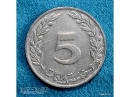 5 MILLIM 1993 - Tunezja