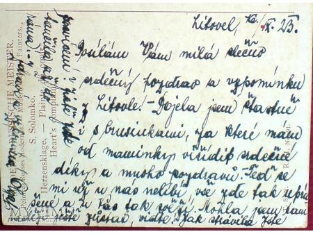 1924 KRUK Siergiej Solomko skarga serca ..piękna