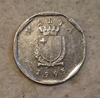 Duże zdjęcie Malta, 5 Centów 1995