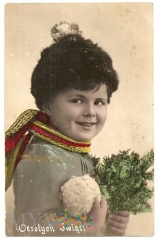 Duże zdjęcie Wesołych Świąt-wysł.zGorlic do Sanoka.22.12. 1931.