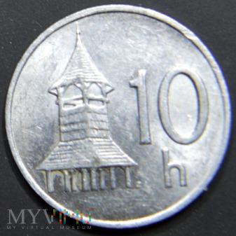 Słowacja / halerze 10 / 1994