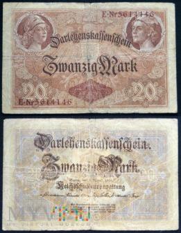 Niemcy, 20 marek 1914r.