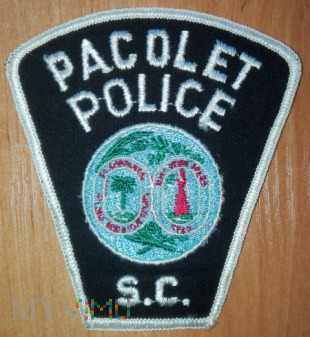 Pacolet policja