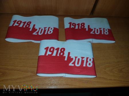 Duże zdjęcie 2018 - Opaski Niepodległa