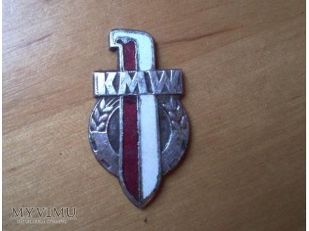 """Odznaka """"Koło Młodzieży Wojskowej"""""""