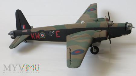 """Samolot bombowy """"Wellington"""" Mk III (model 1/72)"""