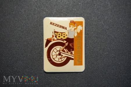 Rezerwa Wiosna 88 - Pamiątkowa odznaka