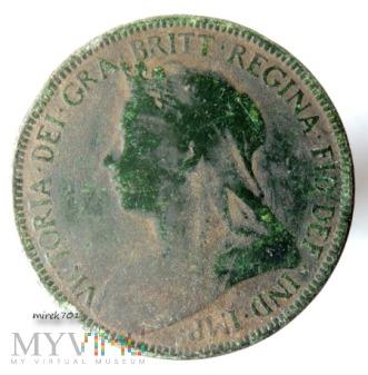 0,5 pensa 1900, Half Penny Victoria