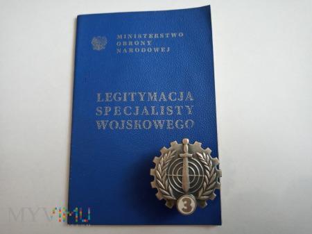 Odznaka Specjalisty Wojskowego